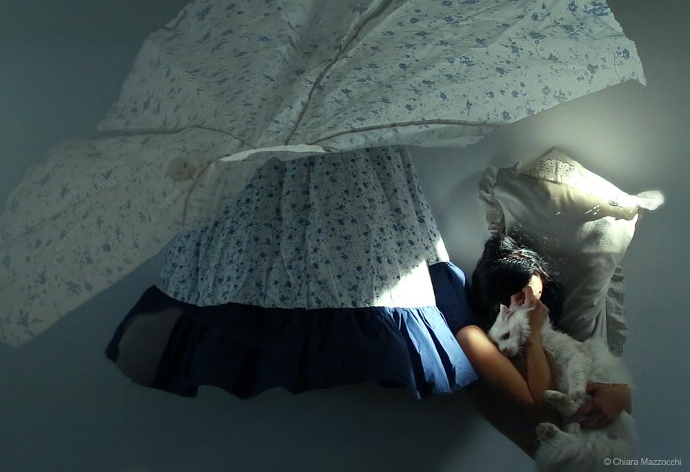 SleepingStanding_Selfportrait - Chiara  Mazzocchi