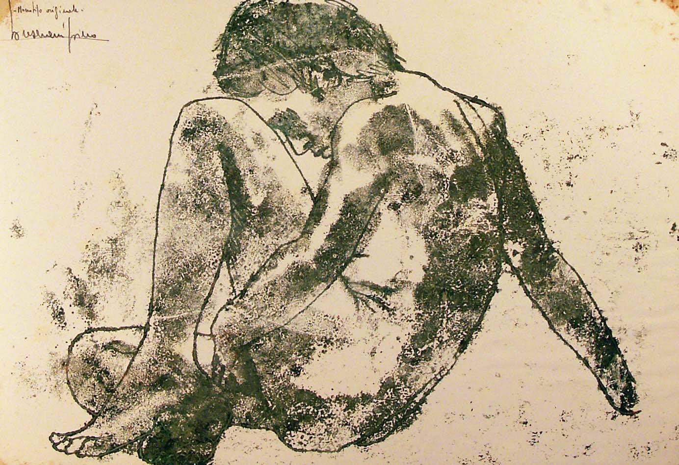 """"""" Nudo Plastico N°1 """" Piero Bresciani"""